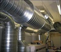 Воздуховоды, вентиляционные каналы, изготовление, монтаж