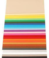 Бумага для дизайна Tintedpaper В2 (50*70см), №37 фиолетово-голубая, 130г/м, без текстуры, Folia