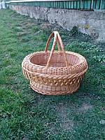 Плетеная корзина подарочная пустая, фото 1