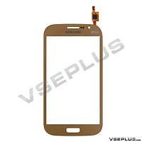 Тачскрин (сенсор) Samsung I9060 Galaxy Grand Neo Duos, золотой