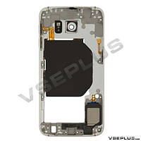 Средняя часть Samsung G920 Galaxy S6, белый