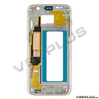 Средняя часть Samsung G935 Galaxy S7 Edge Duos, белый