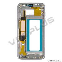 Средняя часть Samsung G935 Galaxy S7 Edge Duos, черный