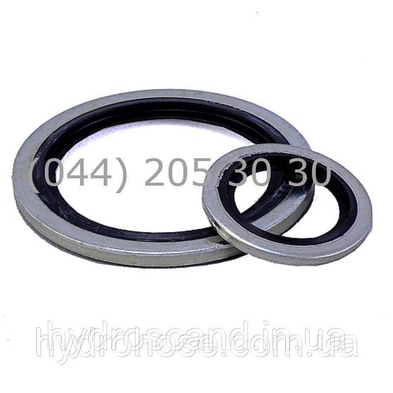 Кольцо уплотнительное металл-резина USIT