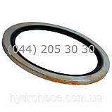 Кольцо уплотнительное металл-резина USIT, фото 2