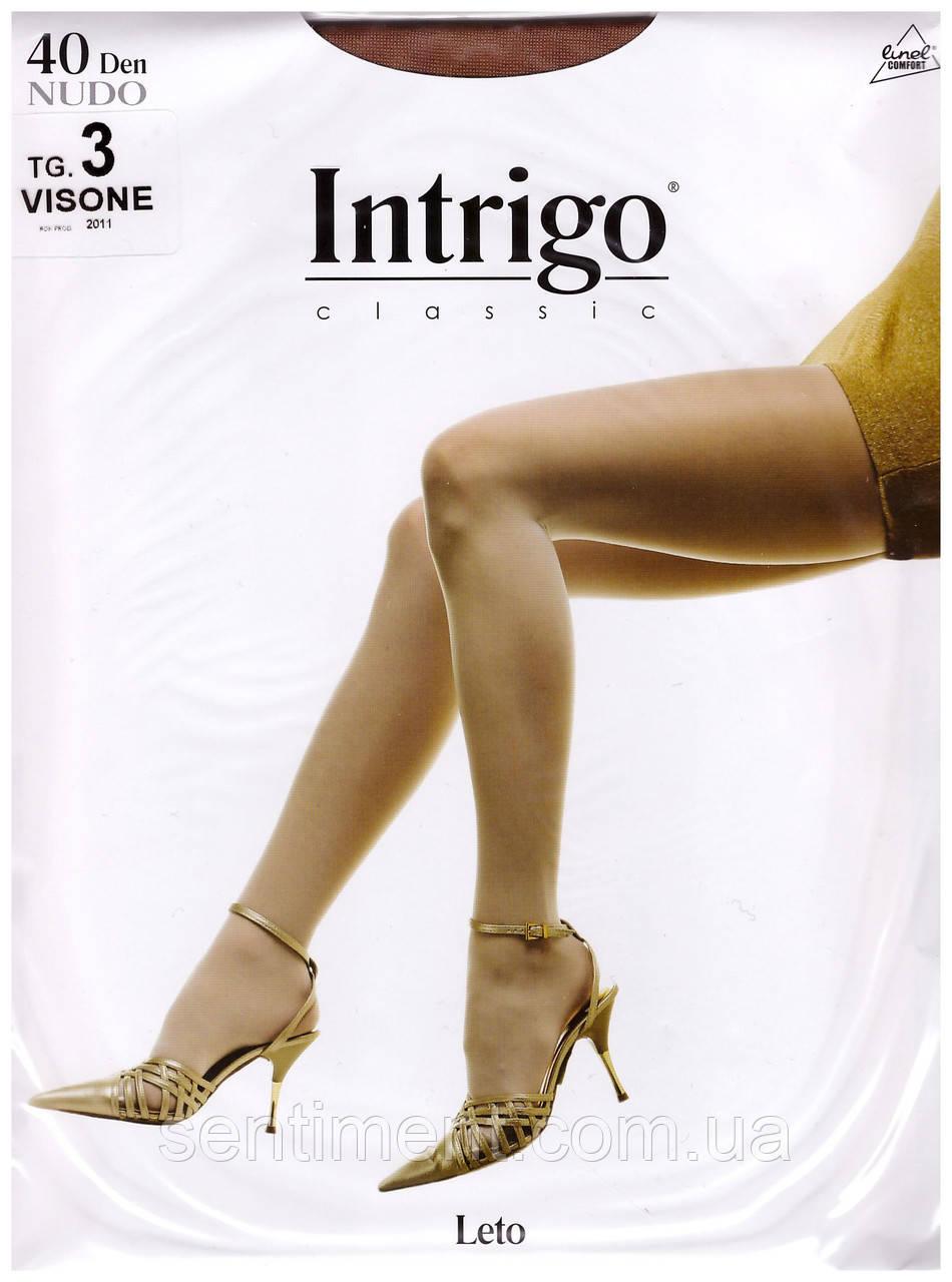 Колготы Intrigo classic Leto (nudo) 40 den. Опт и розница.