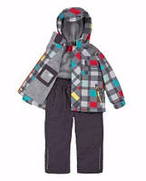 Демисезонный комплект для мальчика 3-10 лет (Р. 98-140, куртка, брюки) ТМ Deux par Deux W54S-964
