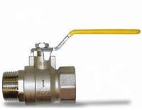 Кран шаровый муфтовый (ручка, г/ш) ТК Газ ДУ 20