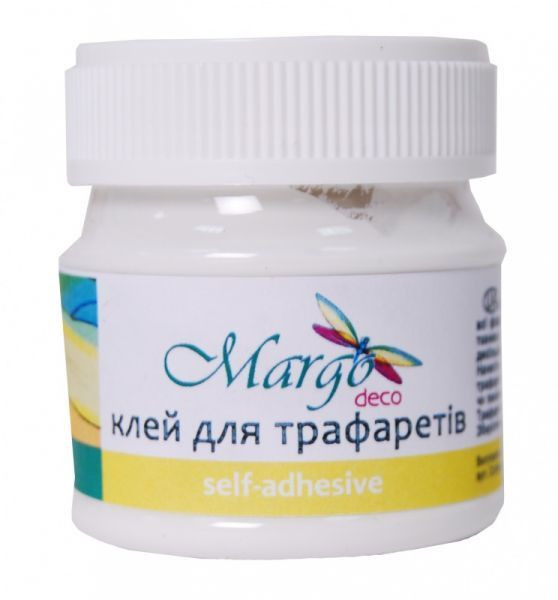 """Клей для трафаретов 50мл Margo - """"1000 мелочей"""" интернет-магазин в Одессе"""