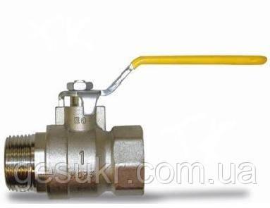 Кран шаровый муфтовый (ручка, г/ш) ТК Газ ДУ 40