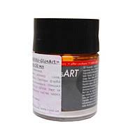 Краска витражная на основе раств.холодной фиксации Белая жемчужная 50мл Glas Art Marabu 130205270