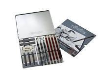 Набор для графики «Silver Box»15 шт . мет. коробка Cretacolor