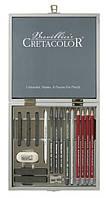 Набор для графики Silver Box17 шт . дер. упаковка Cretacolor