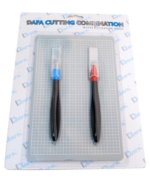 """Набор для моделирования 2011: коврик самовосстанавливающийся 2 макетный ножа DAFA - """"1000 мелочей"""" интернет-магазин в Одессе"""