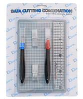 Набор для моделирования 2015: коврик самовосстанавливающийся 2 макетный ножа сменные лезвия DAFA