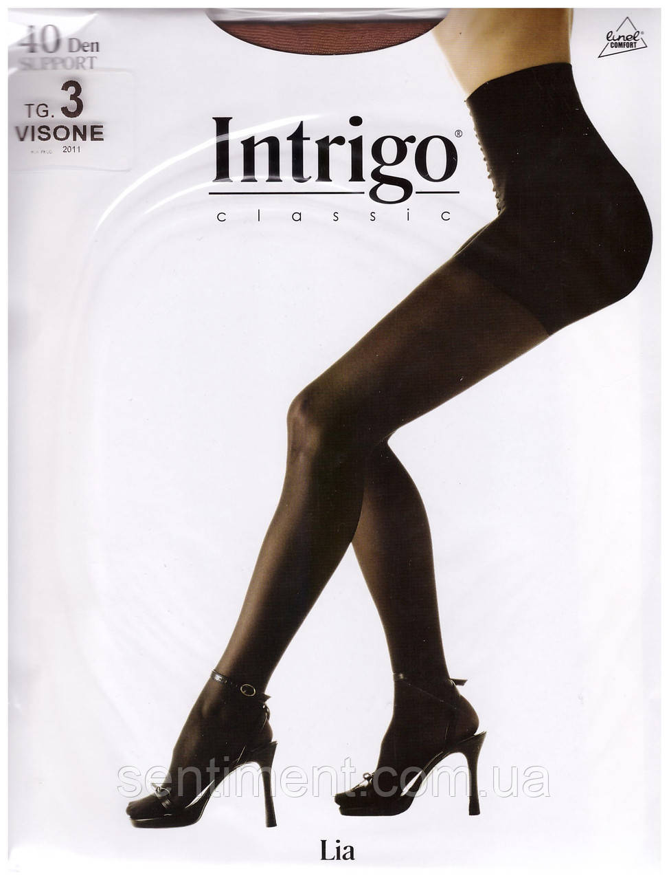 Колготы Intrigo classic Lia (support) 40 den. Опт и розница.