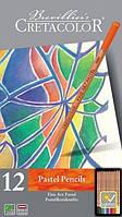 Набор пастельных карандашей Fine Art Pastel 12 шт . мет. упаковка Cretacolor
