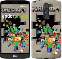 "Чехол на LG G3 Stylus D690 Minecraft 6 ""3330c-89"""
