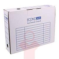 Папка-бокс архивная 80 мм белая Economix