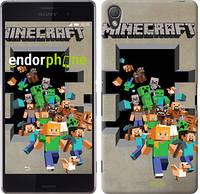 """Чехол на Sony Xperia Z3 D6603 Minecraft 6 """"3330c-58"""""""