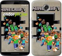 """Чехол на Motorola Nexus 6 Minecraft 6 """"3330c-67"""""""