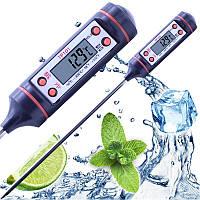 Кухонный термометр для мяса TP-101 (-50 ... +300 ºC) C функциями Hold, C/F и Max/Min (цвет: белый, черный )