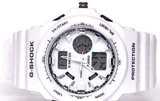 Наручные часы Casio G-Shock белого цвета