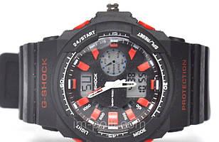 Наручные часы Casio G-Shock черно-красные цвета