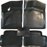 Коврики резиновые черные Lada 2108-21099/2113-2115 (5 шт.) корыто ROZMA