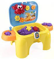 Маленький столик-сидение для игры с песком (Stm-1)