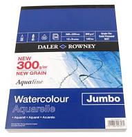 Склейка Aquafine A3 (30,5*40,6см) 300г/м, 50л, среднеее зерно, Daler-Rowney