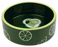 Trixie  TX-25100 миска для собак Fresh Fruits   (0,3л) керамика