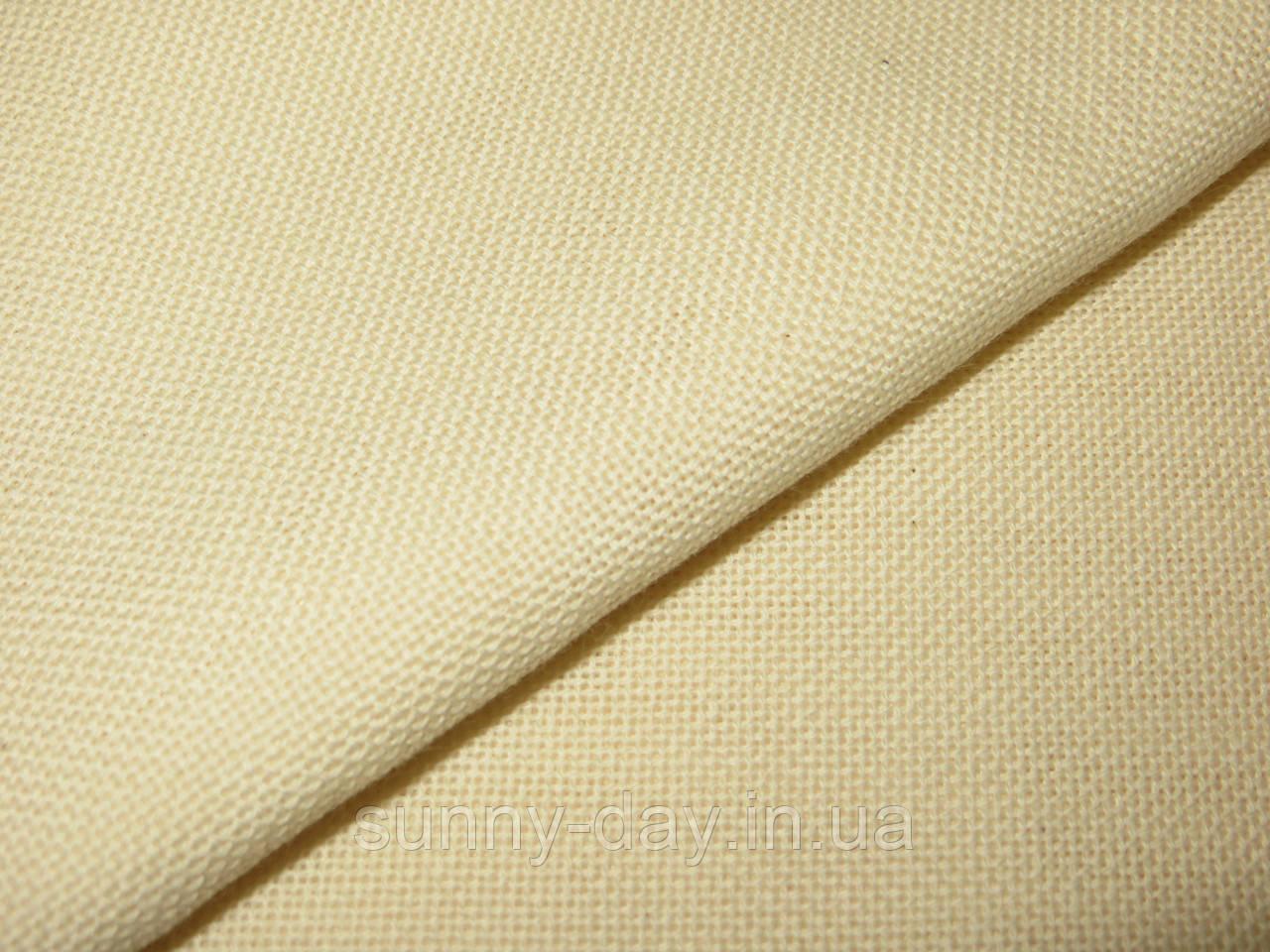 Домотканое полотно, экрю, 50*70см