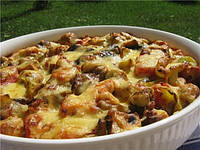 РЕЦЕПТЫ: Запеченные овощи с курицей