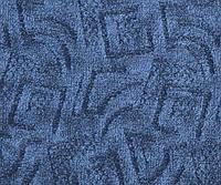 Ковролін тафт. ITC Marbella 075 синій 4,0 м фільц скрол VO ПА