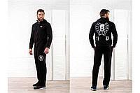 Мужской спортивный костюм Филипп Плейн черный, фото 1