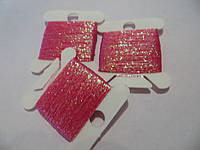 Люрекс, цвет - розовый перламутр (50м)