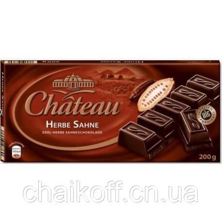 Шоколад черный  Chateau Herbe Sahne 200 г (Германия)