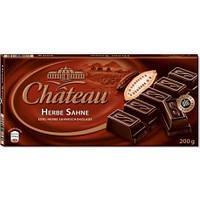 Шоколад черный  Chateau Herbe Sahne 200 г (Германия), фото 1