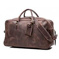 Кожаная дорожная сумка TIDING BAG Х7037