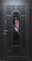 """Входная дверь для улицы """"Портала"""" (Patina Премиу) ― модель BIG-16 (3-D, патина)"""