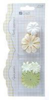 Цветы бумажные Микс №3 20шт.Dalprint