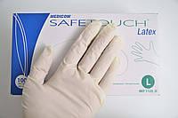 """Перчатки латексные текстурированные """"Safe-Touch"""" 1123-B р.S 100шт не стерильные"""