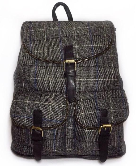 7d3a93c9e593 Женский рюкзак в клетку шотландка. Выбор! Сумка портфель высокое качество!  СР300 - интернет