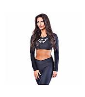 Женский Спортивный костюм для тренажерного зала с длинным рукавом