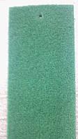 Зелёный выставочный ковролин на резиновой основе ширина 2 метра