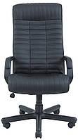 Кресло для руководителя Прованс пластик Кожа-Люкс  комбинированная