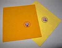 Нанесение логотипа на салфетках