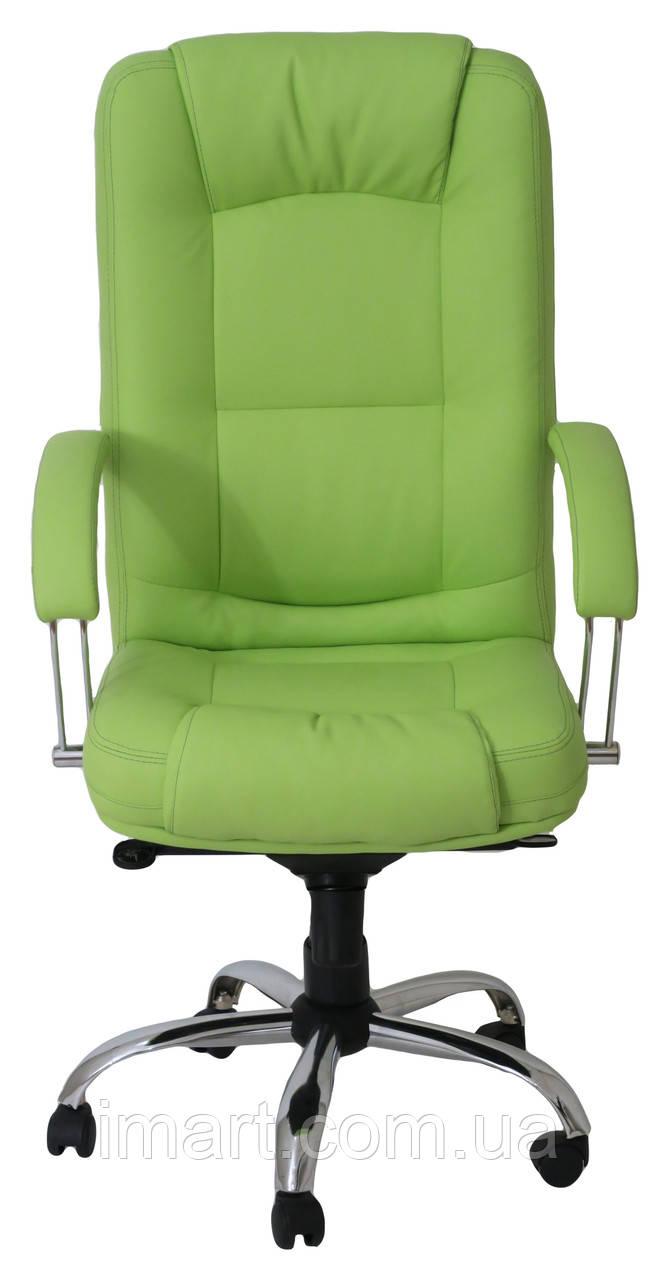 Купить Кресло для руководителя Альберто хром к/з Флай/Неаполь, Richman