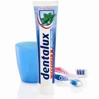 Немецкая зубная паста Dentalux свежесть трав и мяты, фото 1